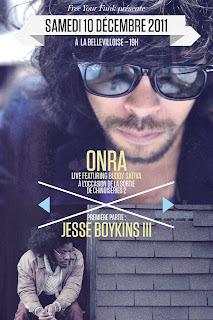 Concert Onra et Jesse Boykins