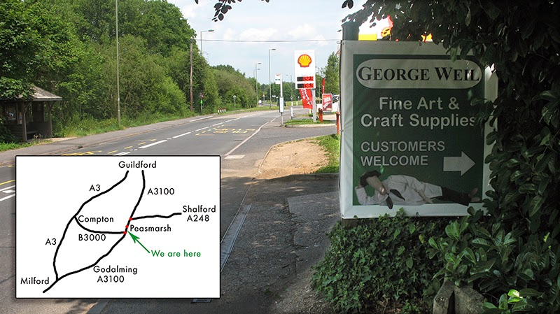 Directions to George Weil & Sons Ltd