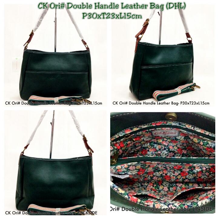 c42454a562 Kipling Shop Indonesia  Cath Kidston ORI  Double Handle Leather Bag ...