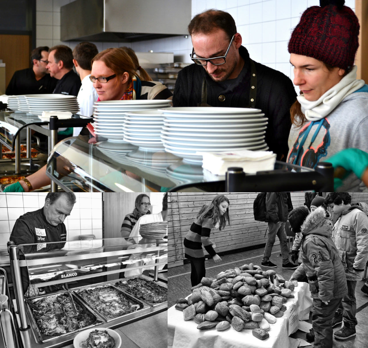 Foodfighters Kochshow in der IGS Emmelshausen.