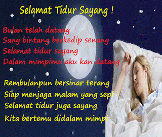 Kata Kata Cinta Romantis Ucapan Selamat Tidur