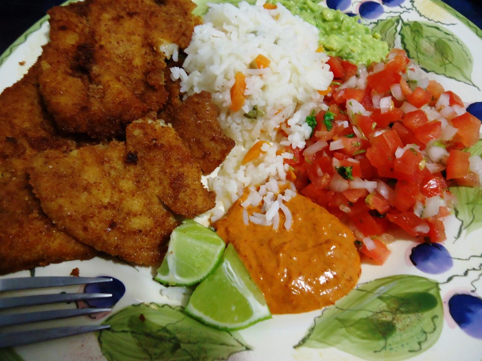 Como preparar pollo empanizado related keywords como for Como cocinar pescado al horno
