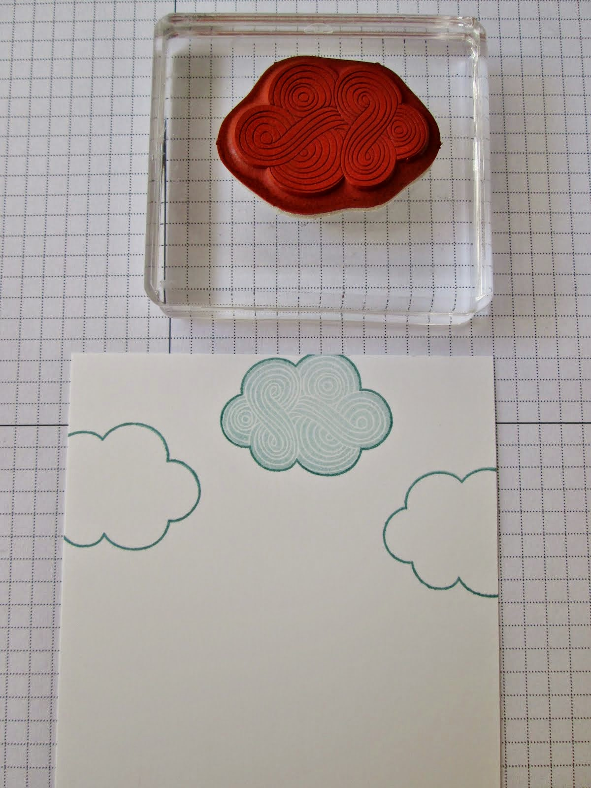 Stamp-a-ma-jig tutorial for Think Happy