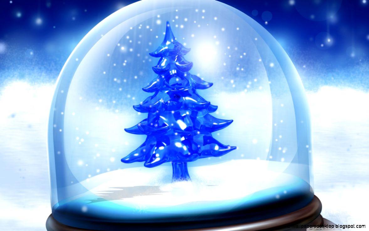 Christmas Snow Globe HD desktop wallpaper  Fullscreen  Mobile