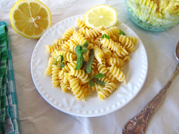 Lemon Cream Pasta
