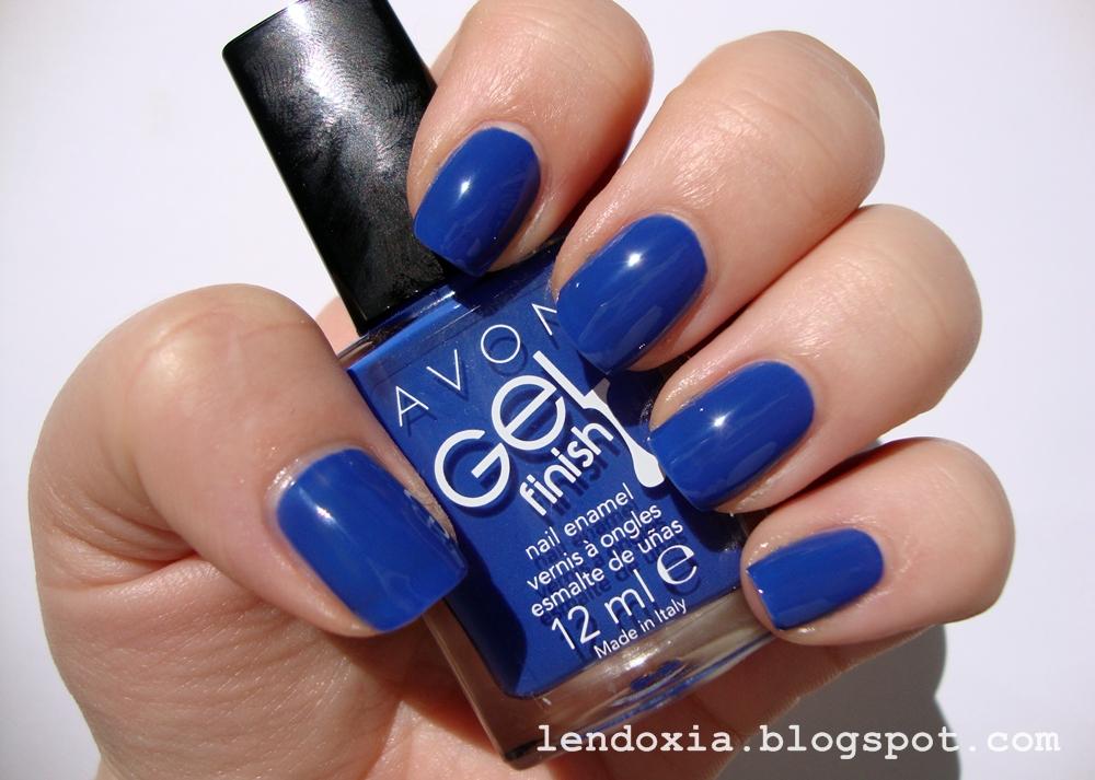 Avon Royal Vendetta plavi lak za nokte