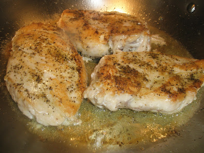 how to cook diced chicken breast in a pan