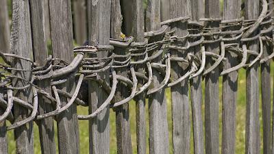 recinzione steccato Speltenzaun