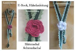Häkelanleitung Schmuckschal, Blütenschal