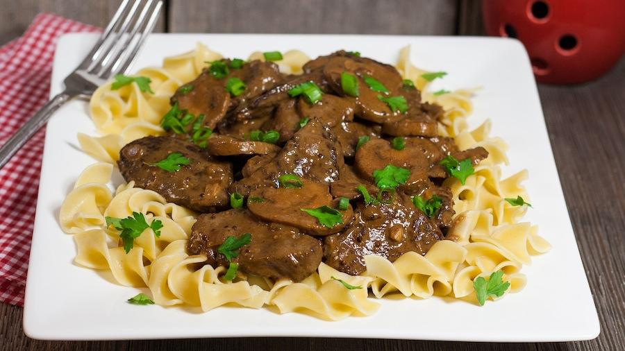 beef stroganoff slow cooker beef recipe