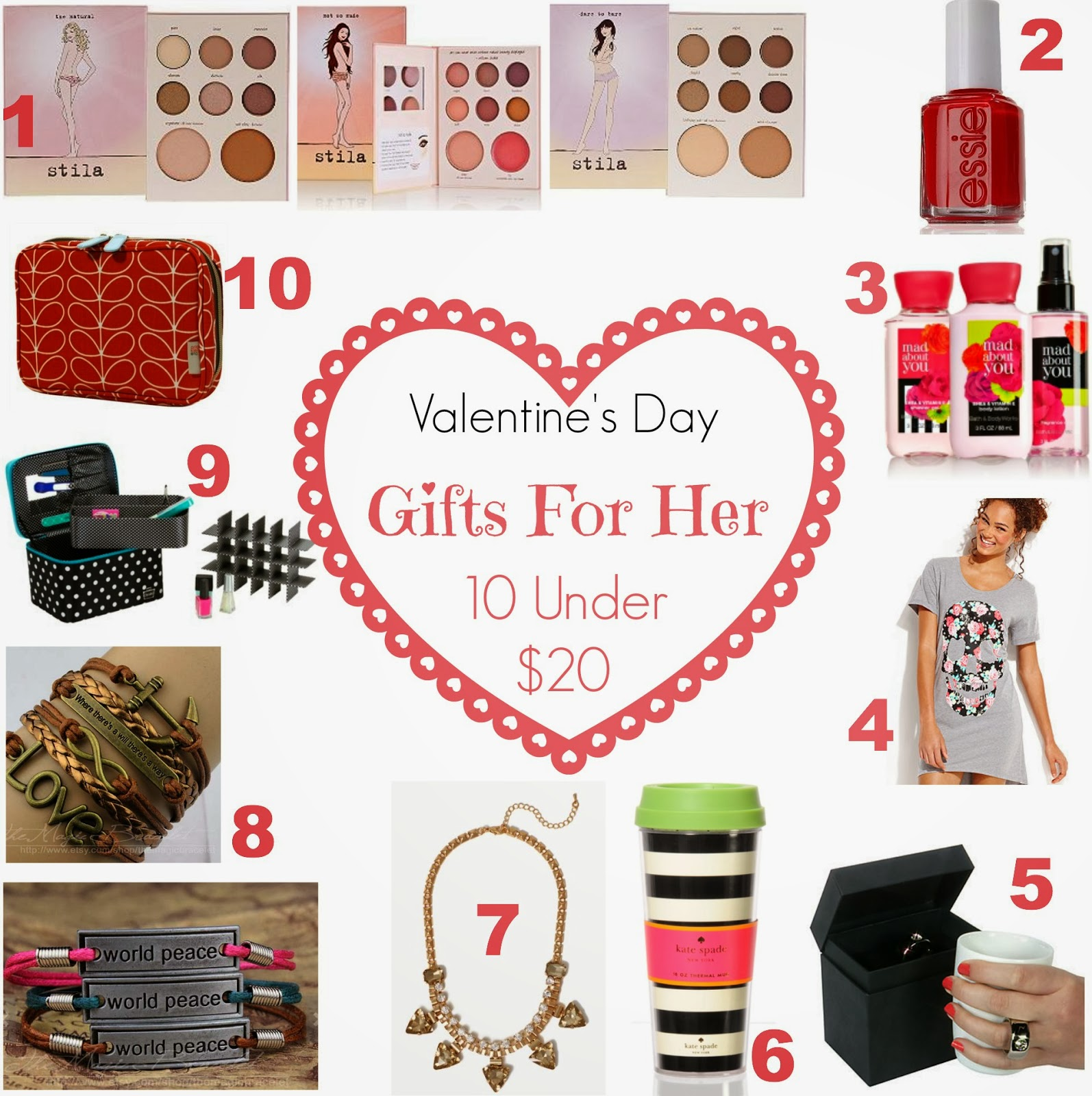 Valentine gifts for her 10 best gift ftempo for Best valentine gifts for her