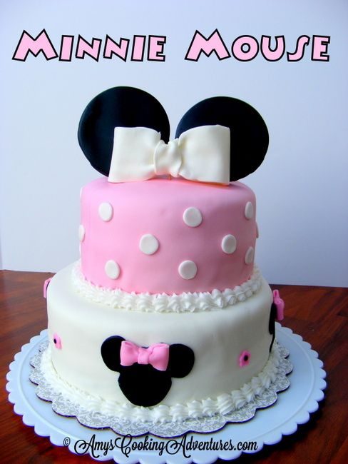 Amys Confectionery Adventures Minnie Mouse Cake