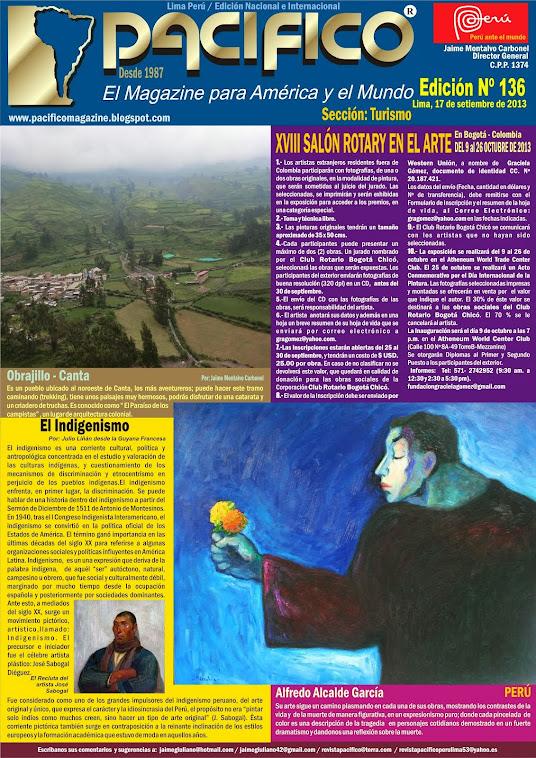 Revista Pacífico Nº 136 Turismo