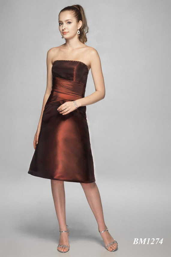 Brown bridesmaid dresses ideas have your dream wedding for Brown dresses for wedding