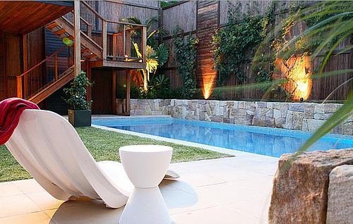 Western Home Decorating: Swimming Pool Landscape - Design ...