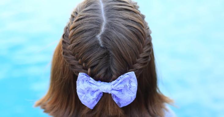 Peinados para niña de pelo corto YouTube - peinados para ninas pelo corto