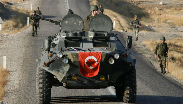 Κούρδοι ανατινάζουν τεθωρακισμένο όχημα «Κόμπρα» του τουρκικού Στρατού –  (βίντεο)