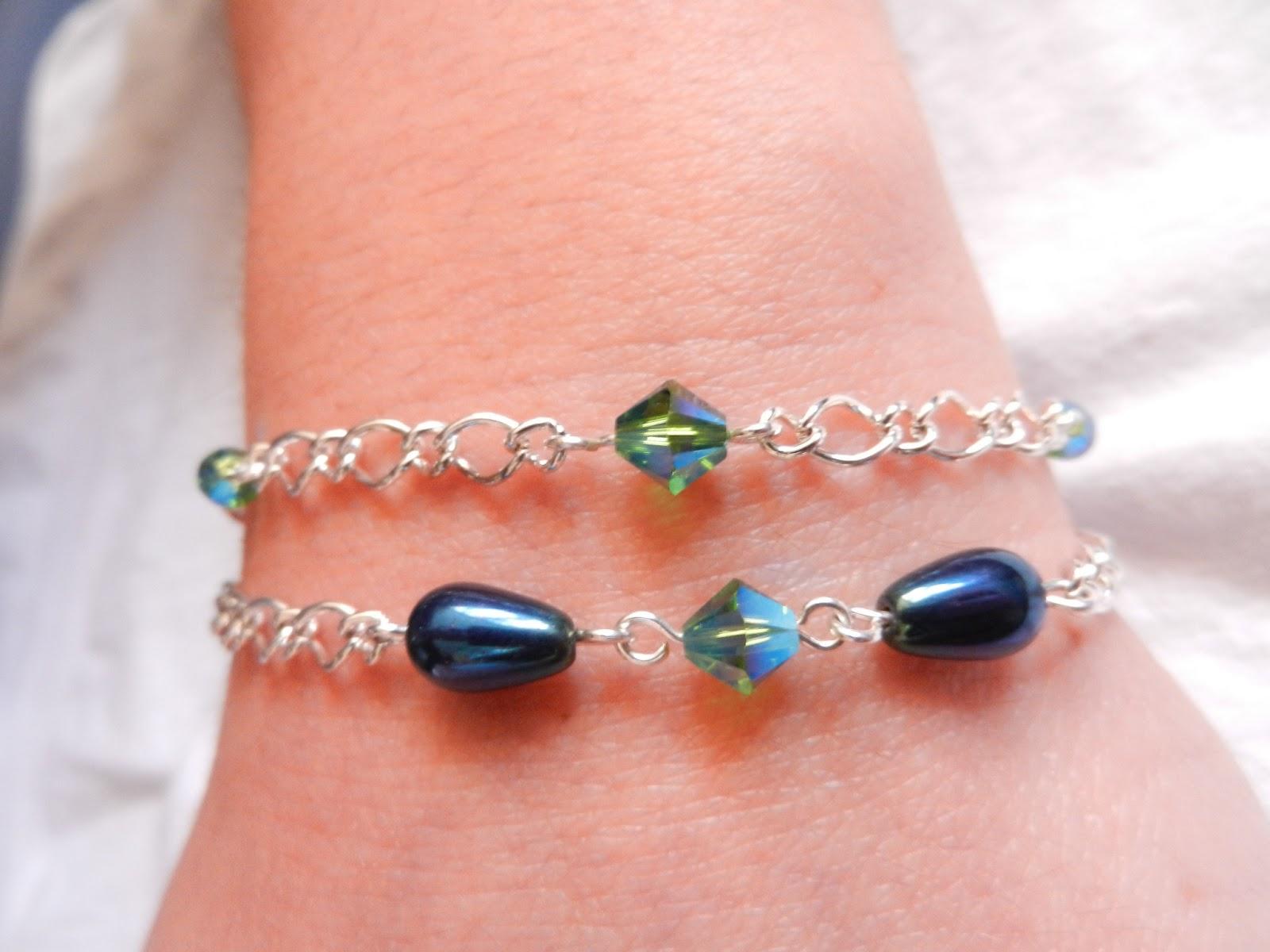 Bermuda blue bracelet