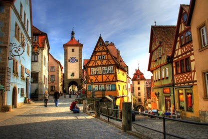 Romantic Road, Germany, Rothenberg