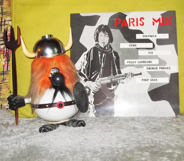 Paris Mix - Prop ' Sack , Peggy Luxbeurk ,  Swingo Porkies , Zona  - 1982 Zeb production punk France comme avant univers pas comme on les voit vie parisienne