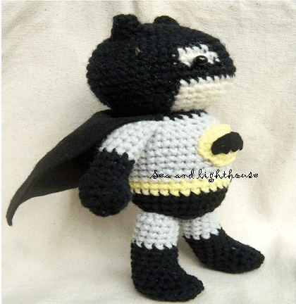 Amigurumi Crochet Batman : Amigurumi Crochet Pattern-Batman Sea and lighthouse Dolls