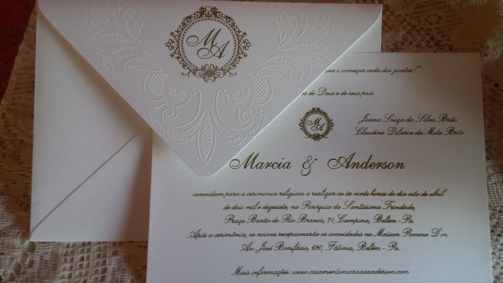 Sainte Convites Blog