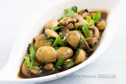 意大利黑醋蘑菇 Balsamic Mushrooms02