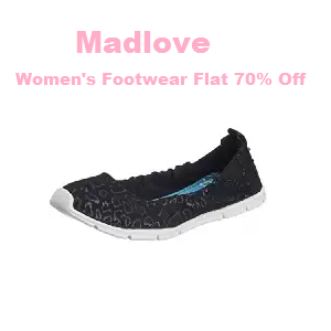 Amazon : Buy Madlove Women's Footwear And get at Flat 70% off, Starting at Rs. 449 only – buytoearn