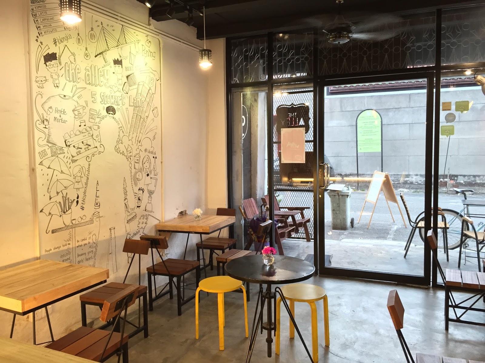 Cafe hopping and street food in penang best guide