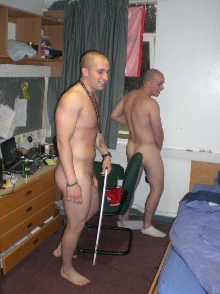 Hang around naked