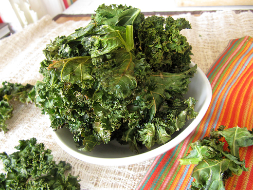 how to make kale chips nz