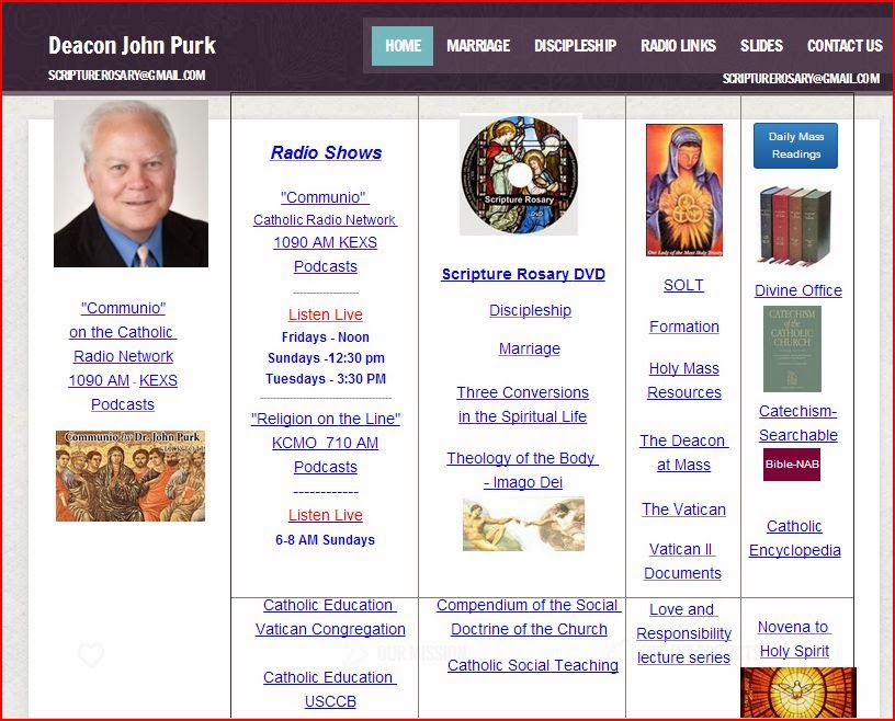 Deacon John Purk SOLT- Great information - just click link in picture