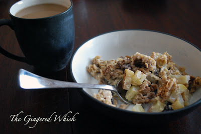 Apple Cinnamon Baked Oatmeal - The Gingered Whisk