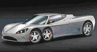 Mobil Ber-Roda 6 Pertama Di Dunia