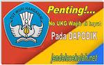 Nomor Peserta UKG Wajib di Input Pada Dapodik