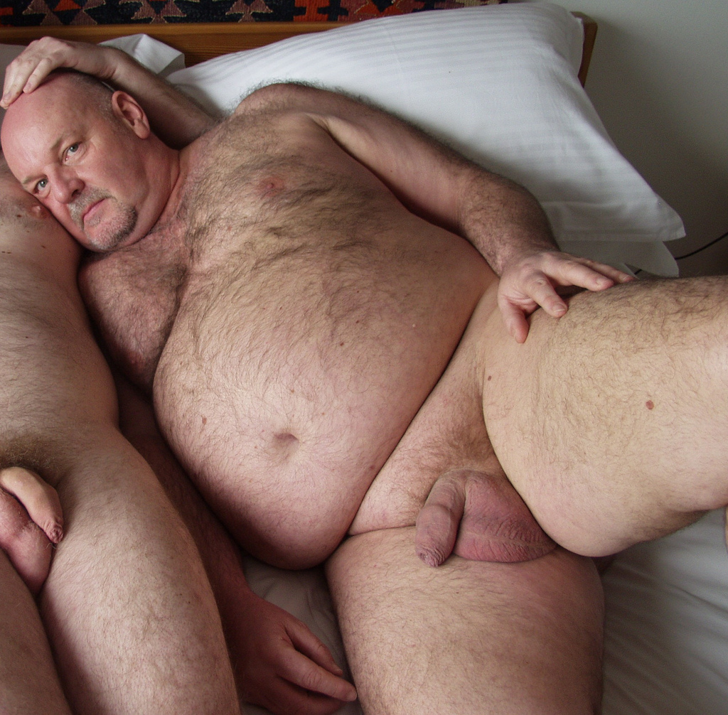 uncut big Hairy cocks daddy