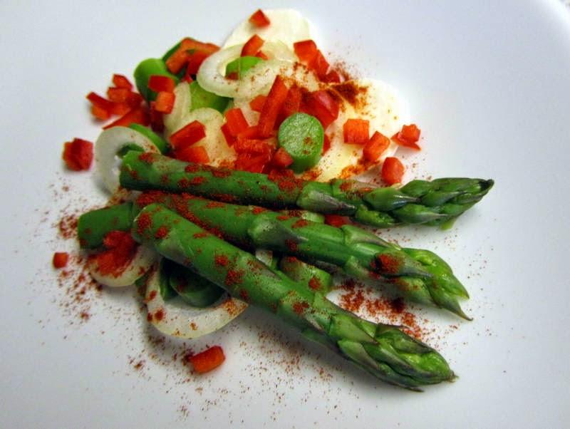 grønne asparges sæson