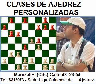 CLASES DE AJEDREZ PERSONALIZADAS CON EL PROFESOR NELSON BARCO ACUÑA (Dar clic a la imagen)