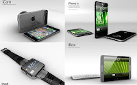 Concepts of Apple products in 2012