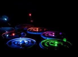 luz de robot roomba