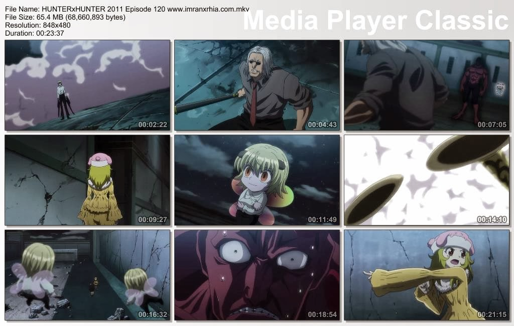 "Download Film / Anime Hunter x Hunter 2011 Episode 120 ""Palsu dan Asli"" Bahasa Indonesia"