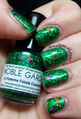 Femme Fatale Noble Garden Swatch