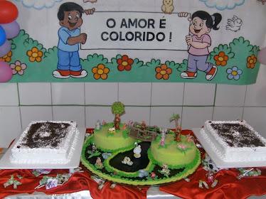 Bolo do Aniversário das Crianças