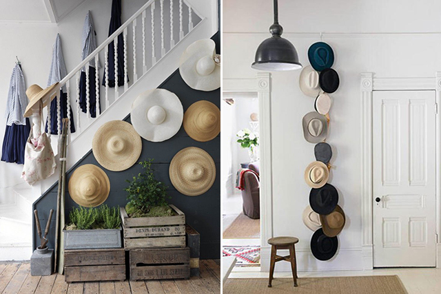 Semaine 26 2015 sur les blogs d co for Hat hanging ideas