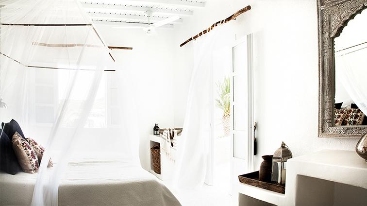 Mykonos resort hotel room, heaven