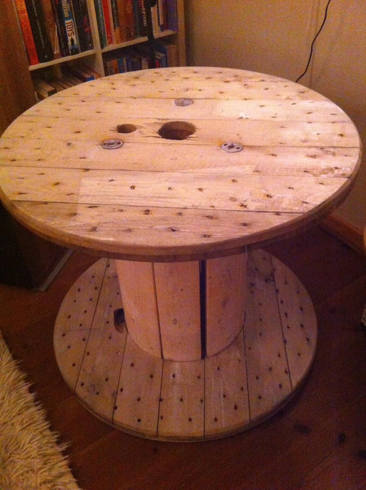 bord av kabeltrommel