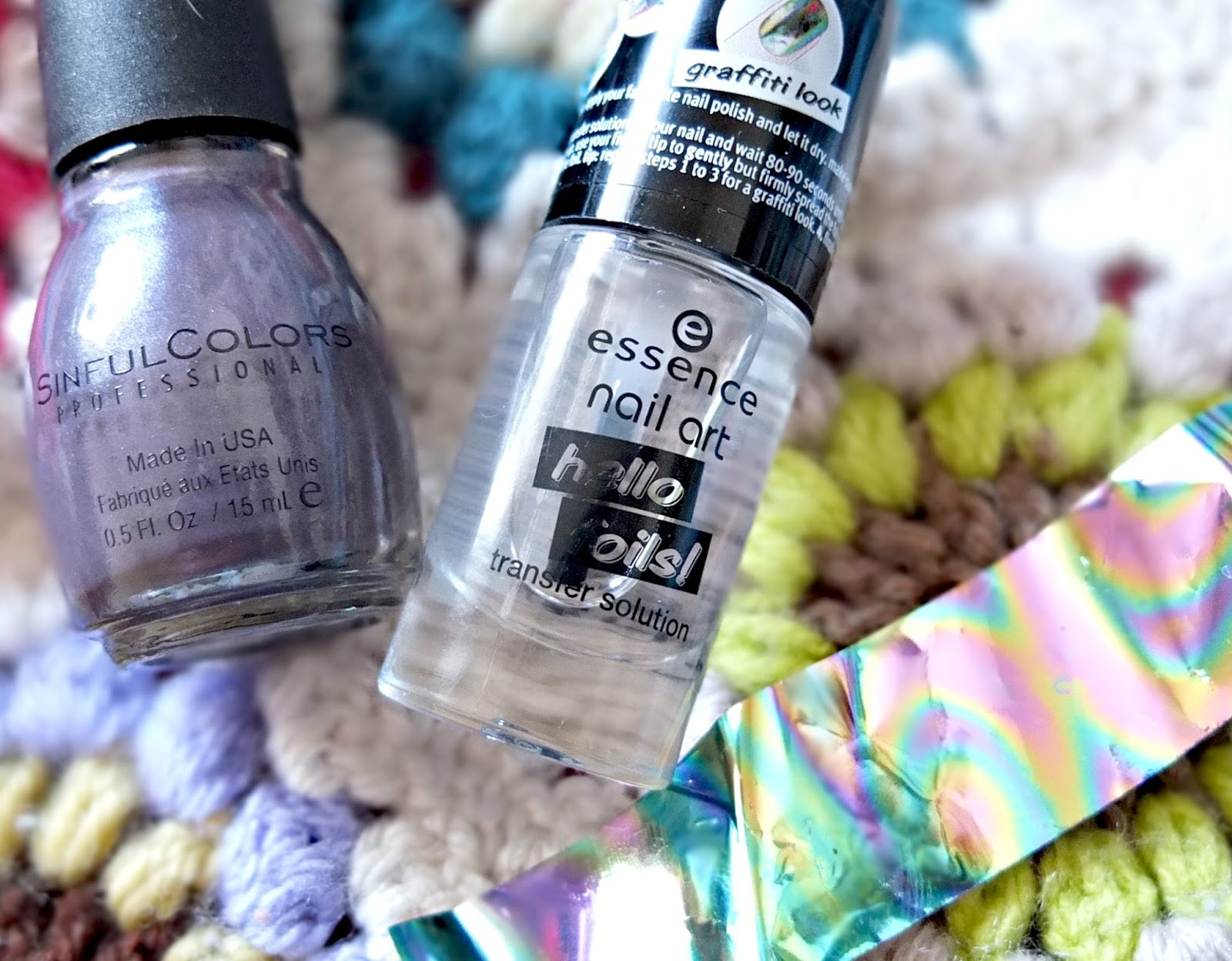 Essence hello foils, foil manicure range, available at Wilkinson on Hello Terri Lowe beauty blog.