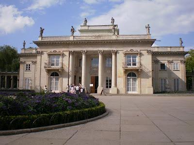 palazzo sull'acqua Varsavia