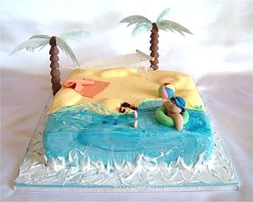 beach inspired cake ideas tyler living
