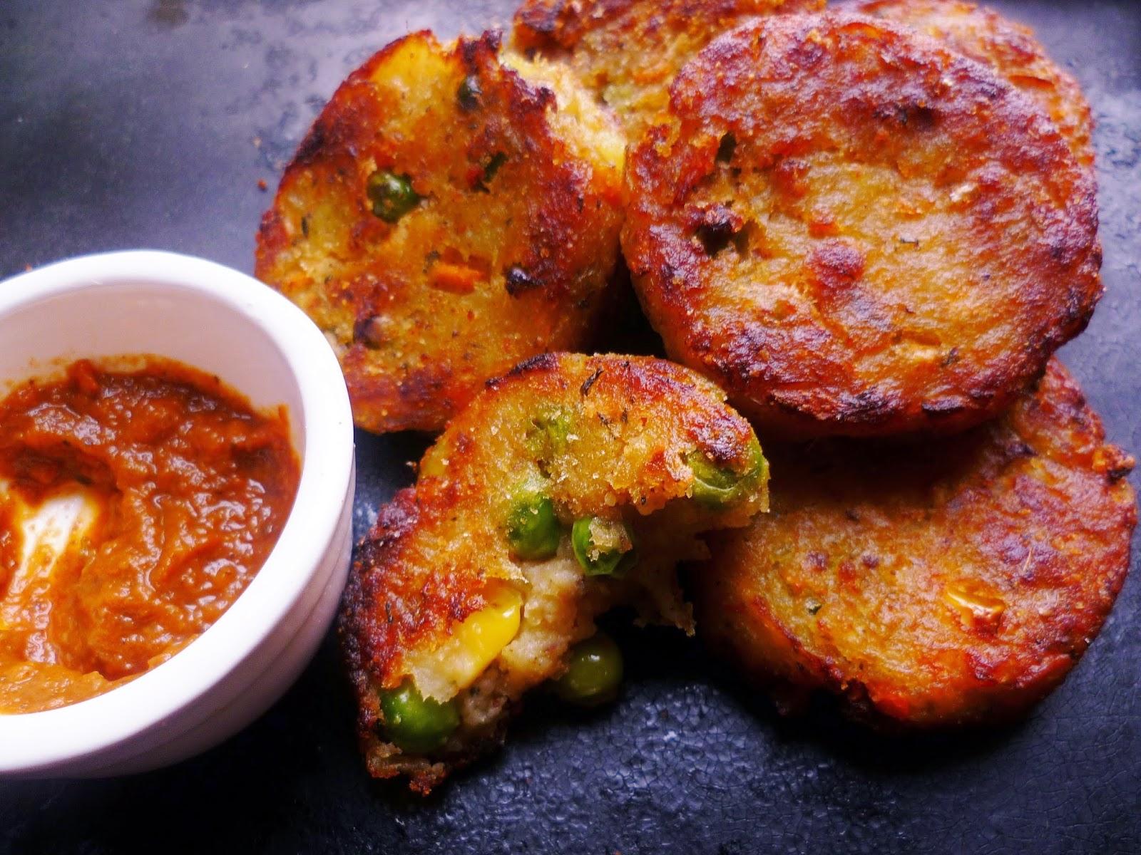 Indian Spiced Crash Potatoes Recipes — Dishmaps